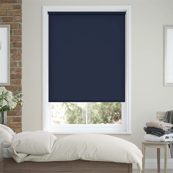 Sevilla Blackout Twilight Blue Roller Blind