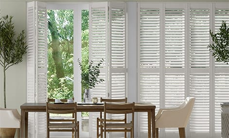 Shutter blinds stylish waterproof made to measure plantation