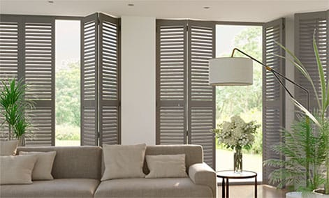 Shutter Blinds Stylish Waterproof Made To Measure