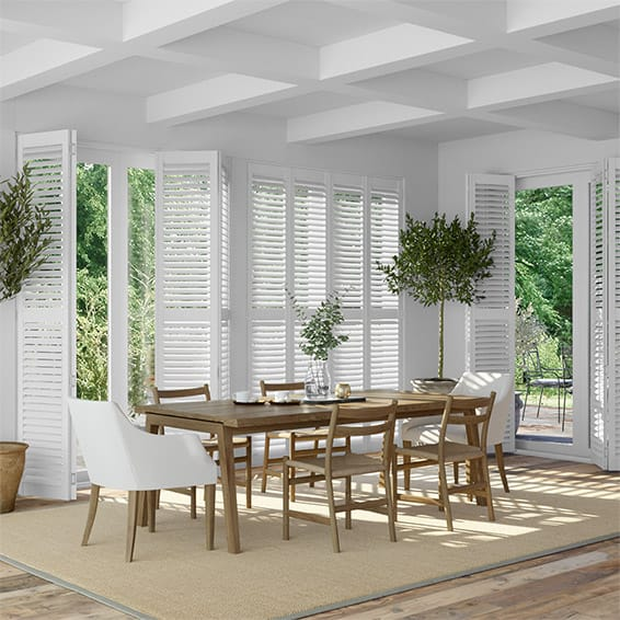 Shutter Blinds San Jose Pure White Blinds 2go