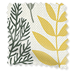 Scandi Ferns Linen Summer Roman Blind slat image