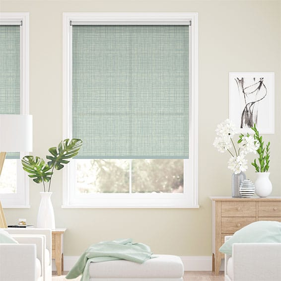Scribble Duck Egg Roller Blind