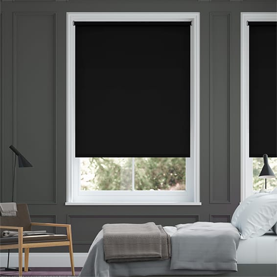 Black Blackout Roller Blinds Bold Affordable Blackout Roller Custom Blackout Bedroom Blinds