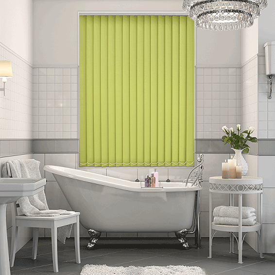 Sevilla Apple Vertical Blind