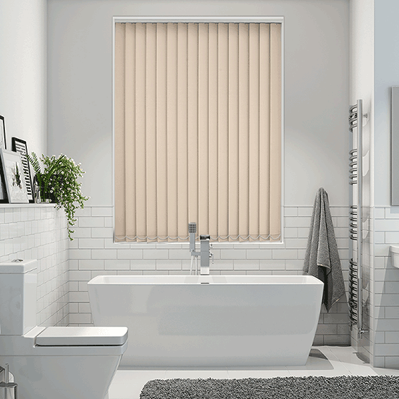 Sevilla Tranquility Almond Vertical Blind