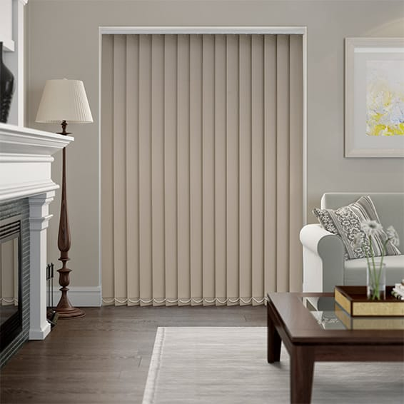 Sevilla Tranquility Stone Vertical Blind