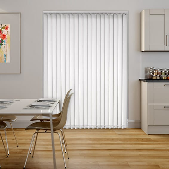 Sevilla True White Vertical Blind