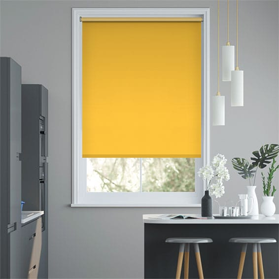Sevilla Buttercup Blackout Roller Blind