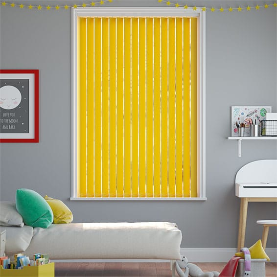 Sevilla Buttercup Vertical Blind