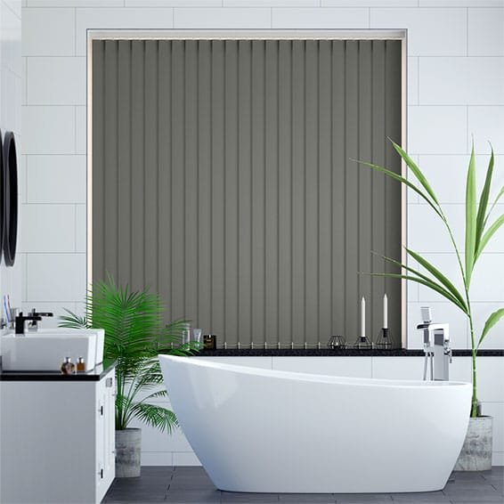 Sevilla Cadet Grey Vertical Blind