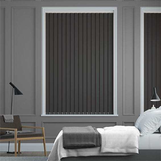 Sevilla Charcoal Vertical Blind