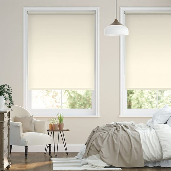 Sevilla Cottage Cream  Blackout Roller Blind