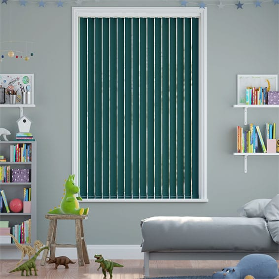 Sevilla Kingfisher Vertical Blind