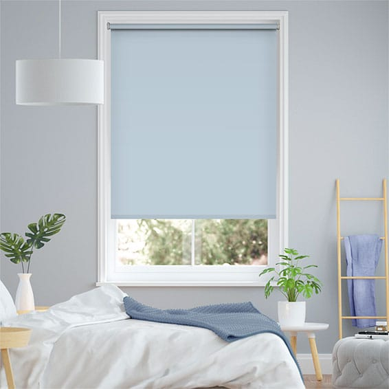 Sevilla Blackout Mayan Blue Roller Blind