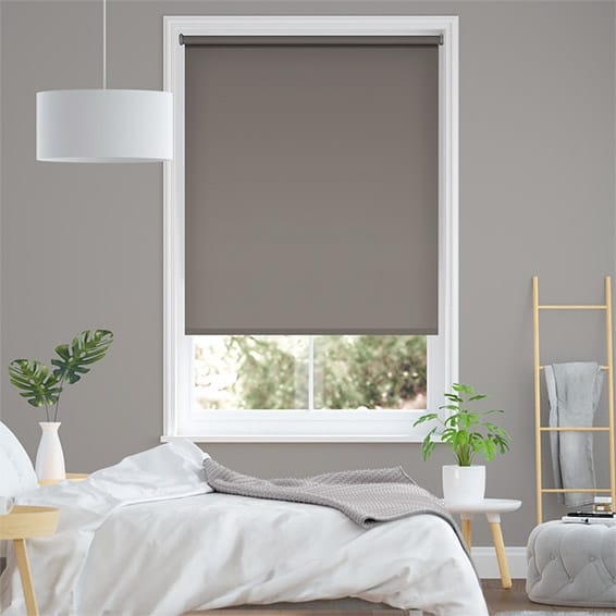 Sevilla Touchstone Grey  Blackout Roller Blind