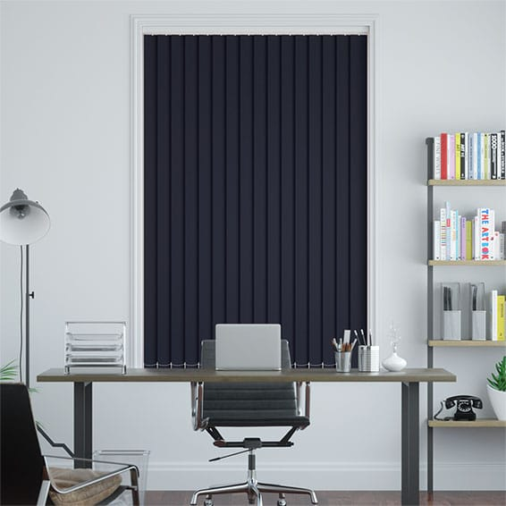 Sevilla Tranquility Twilight Blue Vertical Blind