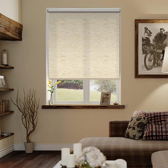 Simplicity Linen Natural Roller Blind