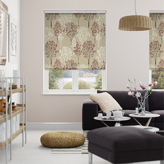 Slender Forest Bouquet Roller Blind