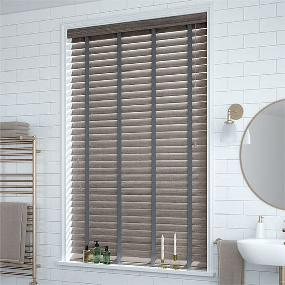 Grey Blinds Contemporary Faux Wood Blinds At Affordable Prices