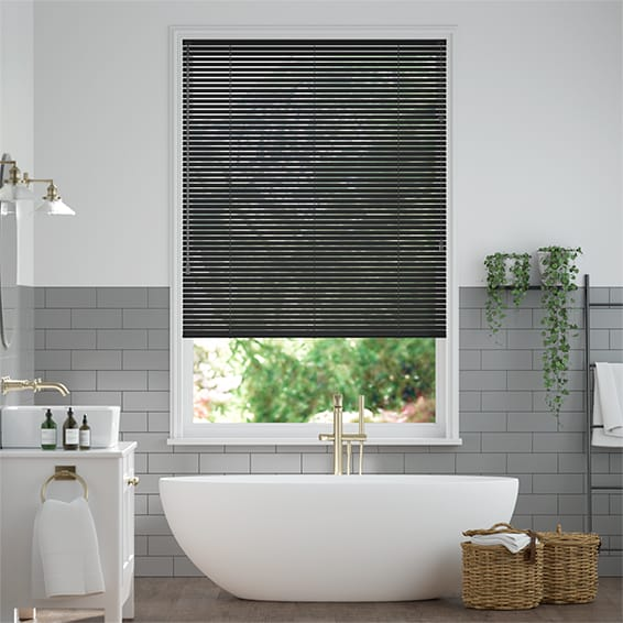 Spirit Midnight Venetian Blind - 25mm Slat