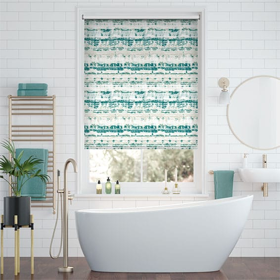 Splash Aguas Ocean Roller Blind