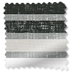 Splash Blackout Calcutta Stripe Slate Roller Blind sample image