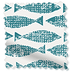 Splash Blackout Samaki Aqua swatch image