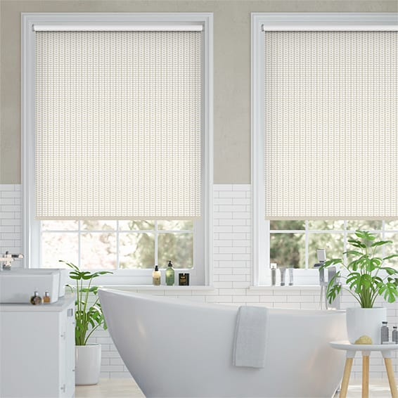 Splash Tiny Stem Taupe Roller Blind