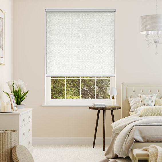 Static Ivory Blackout Roller Blind