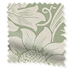 William Morris Sunflower Soft Green Roller Blind slat image