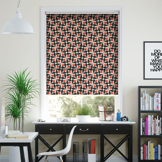 Sycamore Seeds Fuchsia Roller Blind