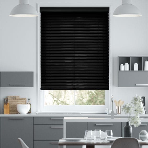 Synergy Midnight Venetian Blind - 50mm Slat
