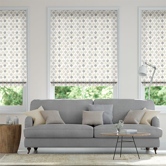 Taimi Neutral Roman Blind
