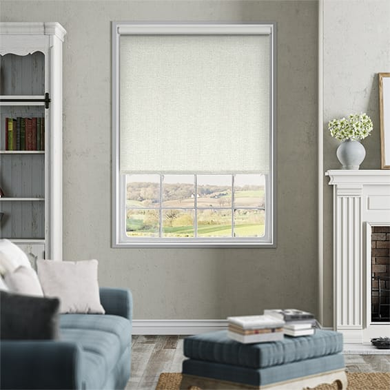 Thermal Luxe Ivory Blackout Roller Blind