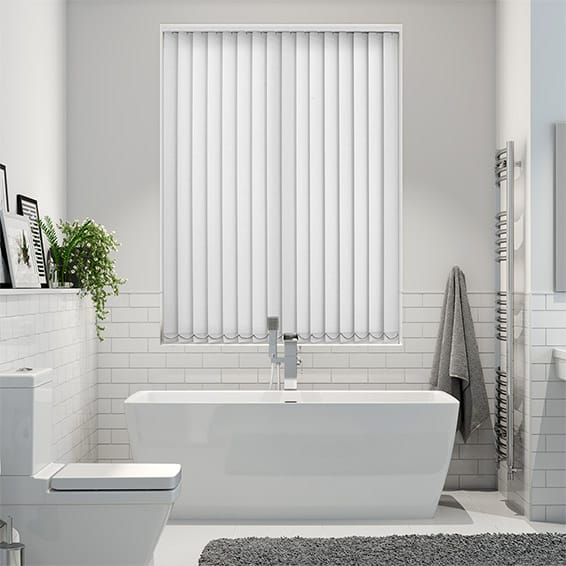 Thermatex Classic White Vertical Blind