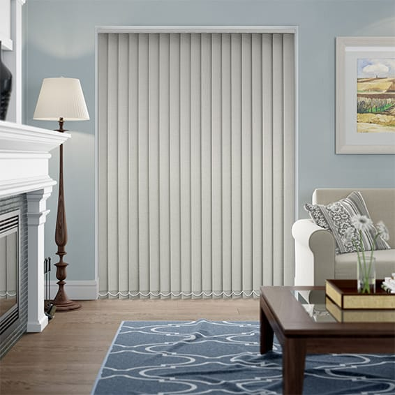 Thermatex Light Grey Vertical Blind