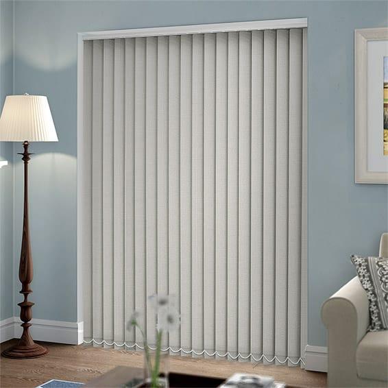 Thermatex Light Grey Vertical Blind