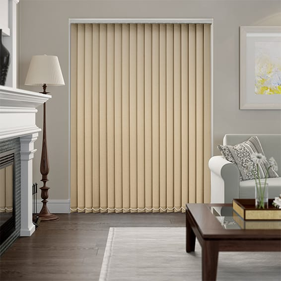 Thermatex Natural Vertical Blind