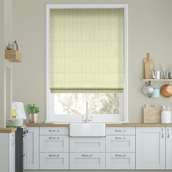 Tiger Stripe Apple Roman Blind