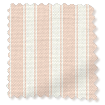 Tiger Stripe Blush Roman Blind slat image
