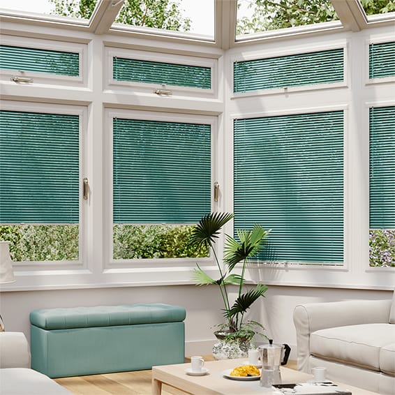 Turquoise Perfect Fit Venetian Blind - 25mm Slat