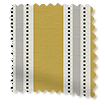 Twill Stripe Yellow Gold Roller Blind slat image