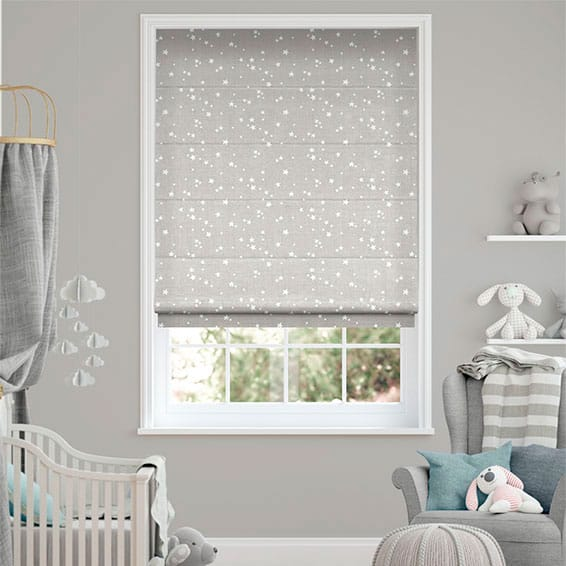 Twinkling Stars Cloud Roman Blind
