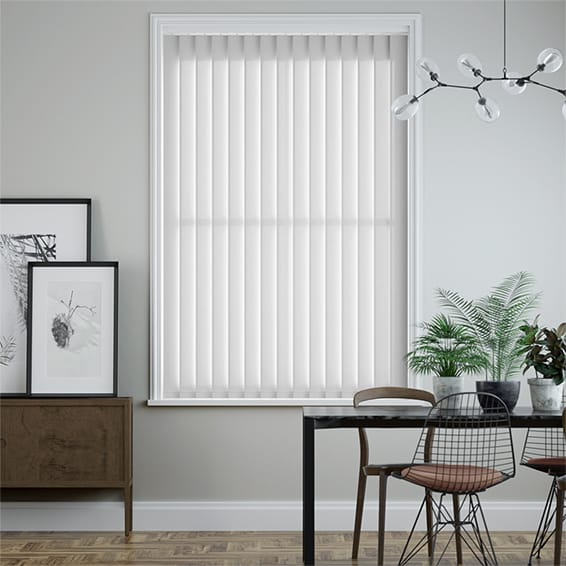 Utopia White Vertical Blind
