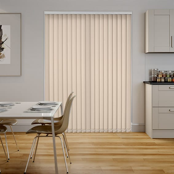 Valencia Almond Vertical Blind