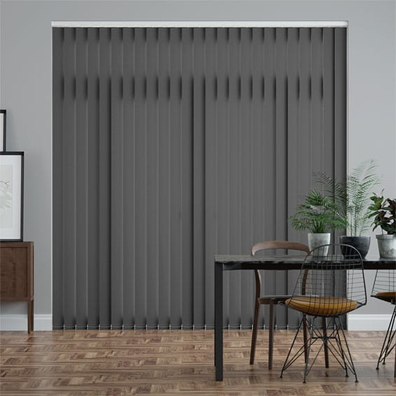Valencia Anchor Grey  Vertical Blind
