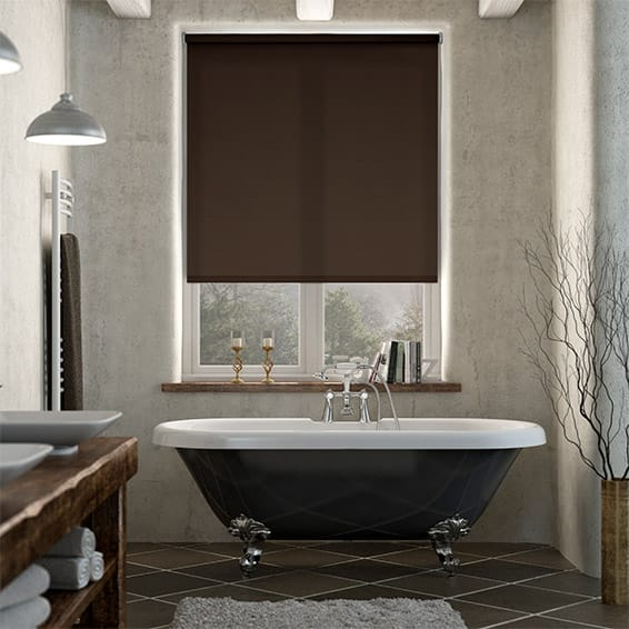 Valencia Chocolate Brownie Roller Blind