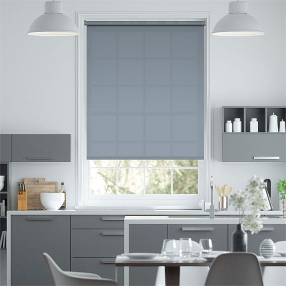 Valencia Carolina Blue Roller Blind