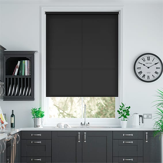 kitchen blinds ideas uk valencia simplicity modern grey roller blind 19192