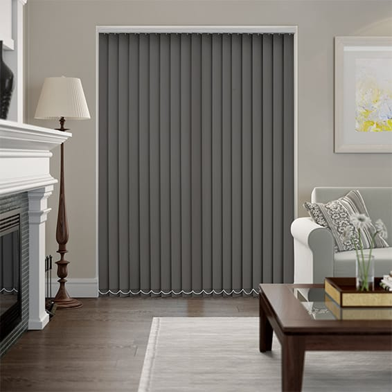 Valencia Pewter Vertical Blind
